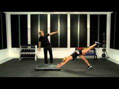 Bob Harper's Bikini Body Workout- Knee Kicks How to Video from Shape Magazine