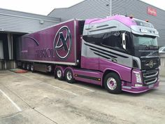 Volvo FH truck. Beautiful long cab.