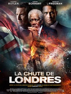 New clips and posters for the action sequel LONDON HAS FALLEN starring Gerard Butler, Aaron Eckhart, Morgan Freeman, Melissa Leo, Angela Bassett and Jackie Earle Haley. Movies And Series, Movies Box, Great Movies, Hd Movies, Movies Online, 2016 Movies, Movies Free, Comedy Movies, Gerard Butler