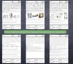 9 Textos cortos para trabajar la comprensión lectora con control de tiempos
