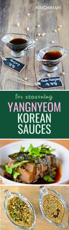 Korean sauces part two, yangnyeomjang! For marinades and seasoning dishes :)