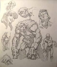 Pencil Sketches by ~PReilly on deviantART