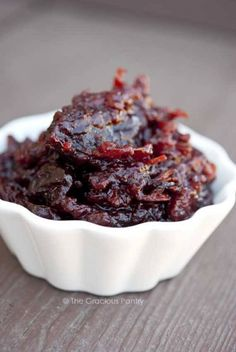 Clean+Eating+Slow+Cooker+Cranberry+Sauce