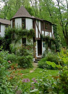 fairy houses   Fairy Tale Houses : Art, Design  Modern day fairy tale, English tudor style houses. Benjamin Ryan hones