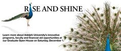 Adelphi University Rise and Shine - Graduate Admissions Event
