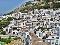 Mijas, the white village of Andalucia, Southern Spain