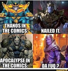 When you're not yet yourself...#Xmen #Apocalypse #Thanos #Memes #Jokes. XMen Apocalypse is still showing @GDCinemas. Please Visit http://ift.tt/1LHnTEM for movie times.