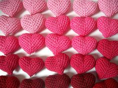 Cuoricini crochet ed un lavorino per voi! (aspettando Abilmente)
