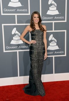 See All the Stars Arriving on the Grammys Red Carpet: Allison Williams stepped out for the Grammy Awards in LA.