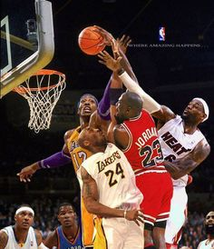 GOAT Michael Jordan VS Kobe Bryant VS LeBron James