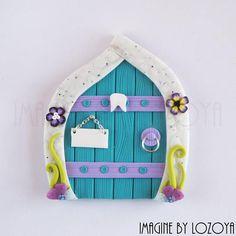 Puerta de hadas 10cm Modelo Violeta