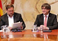 Puigdemont anuncia para el 1 de octubre el referéndum sobre la  independencia