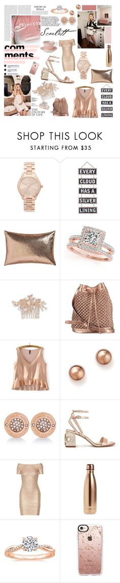 """This doesn't look that much different from home // DTT"" by georgia-la-la ❤ liked on Polyvore featuring Michael Kors, Silver Lining, CB2, Slim Aarons, Allurez, Nina, nooki design, Bloomingdale's, Miss Selfridge and Hervé Léger"