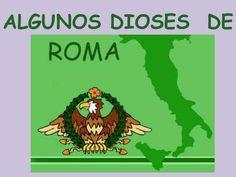 Breve presentación de algunos dioses de Roma.