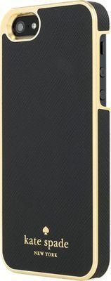 kate spade new york Wrap Case for iPhone SE - Saffiano Black
