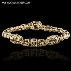 14K Royal Mortem Bracelet - NightRider Jewelry