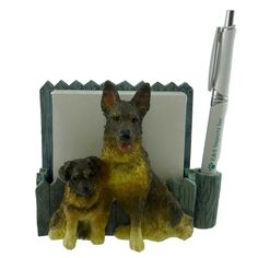 Animal German Shepherd Pet Notepad Ho Desktop Accessory