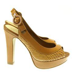 Sandália Camel 4011308 Capodarte   Moselle sapatos finos femininos! Moselle sua boutique online.