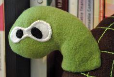 Le doudou Ursule, la petite tortue www.funkysunday.com  #turtle #toy #funky #sunday