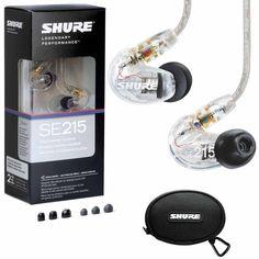 #ShureClearSound Isolating In- #EarDJMonitoringHeadphonesEarbuds http://www.ebay.com/itm/Shure-SE215-CL-Clear-Sound-Isolating-In-Ear-DJ-Monitoring-Headphones-Earbuds/162096745738?hash=item25bdb80d0a