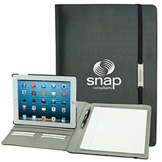 Norwood Promotional Products :: Product :: Rotating Case Tech Padfolio for Tablet