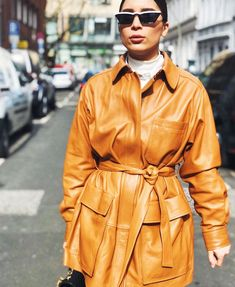 Belted jackets are enjoying a moment as the fashion trend to be seen in this spring—see who's wearing them and where to buy the very best here.