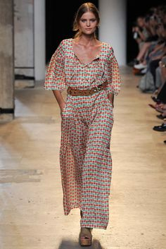 Paul & Joe Spring 2015 Ready-to-Wear - Collection - Gallery - Style.com Paul Joe, Spring Summer 2015, Spring Summer Fashion, Hippy Fashion, Paris Fashion, Ss15 Fashion, Street Fashion, Runway Fashion, Trend Council