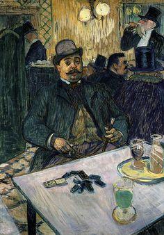 Monsieur Boileau. Toulouse-Lautrec. 1893. Oil on canvas.  80 x 65 cm. Museum of Art. Cleveland.