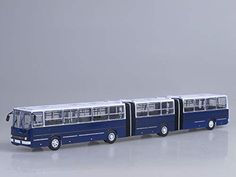 Ikarus 293 1988 Year - Extra Large Bus - Scale Collectible Model Vehicle - Three-Section Articulated Bus Metals Die Cast, Busa, Fire Engine, Scale Models, Diecast, Apocalypse, Vehicles, Car, Composition