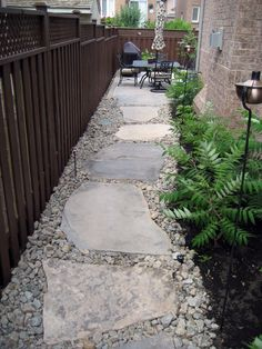 Side Walkway Backyard Design Ideas Pinterest Side Walkway
