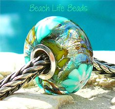 Mix batch of green beads with blue under tones SeaGreen Ceramic Beads