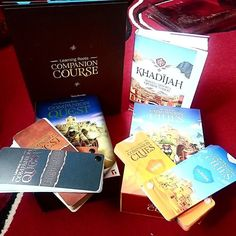 Just got this amazing set of Companion games and Khadijah Mother of Historys Greatest Nation book from @learningroots it's really is a beautiful set and at a great price of 37 with free post. So happy with this.  #Islam #homeschool #homed #islamichomeschooling #Muhammad #books  #whoismuhammad #children #muslimkids #education #games #halal #creativemuslimwomen #islamicart #boardgames