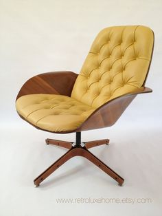 George Mulhauser Plycraft 1960's Mid Century Modern MR. Chair  From RetroLuxeHome on Etsy