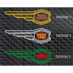 Royal enfield Bullet fuel tank sticker ( Pair of 2 stickers)