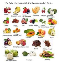 The Dr. Sebi Mucusless Diet