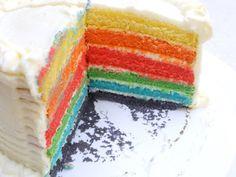 Rainbow cake de Sugar Place Sevilla