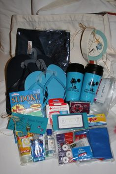 Welcome Bags - I want to have people come from out of town just so I can make up some welcome bags for them!!