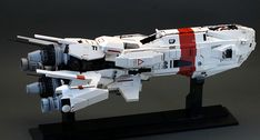 Picket Frigate Prometheus by dasnewten. Lego Spaceship, Lego Robot, Spaceship Design, Robots, Nave Lego, Lego Universe, Lego Space Sets, Starship Concept, Micro Lego