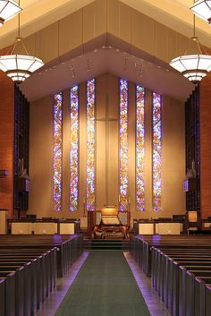 First Presbyterian Church in Fort Worth.  Pipe Organ built by Garland Pipe Organs, Inc.