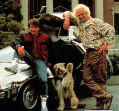 Back to the Future, one of the best 80s movies.