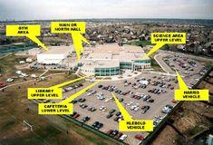 Columbine High School in Littleton, Colorado, south of Denver