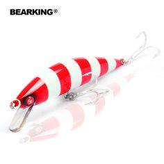 $4.55 (Buy here: https://alitems.com/g/1e8d114494ebda23ff8b16525dc3e8/?i=5&ulp=https%3A%2F%2Fwww.aliexpress.com%2Fitem%2FRetial-quality-bait-A-fishing-lures-120mm-40g-Bearking-8pcs-different-colors-crank-minnow-popper-hard%2F32635866254.html ) Retial quality bait A+ fishing lures,120mm/40g Bearking  8pcs different colors,crank minnow popper hard bait  2016 hot model for just $4.55