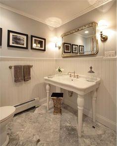 Traditional Victorian Colonial Bathroom By Olga Adler