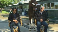 American Pharoah, Bob and Victor.  2015 Triple Crown winners.