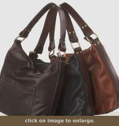 Concealed Carry Purse - Hollister Soft Hobo | available at GunHandbags.com
