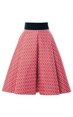 Shop San Domenico America Twill Skirt by Fausto Puglisi for Preorder on Moda Operandi
