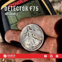 ¿No sabes que detector comprar? En Dadco Technology Chile te orientamos para que tengas el detector que mejor se adapte a ti, solo solicita asesoría por parte de nuestro técnico especialista. Si buscas un detector versátil y ligero te recomendamos el detector de metales F75 de la marca Fisher. Fisher, Labs, Chile, Personalized Items, Shopping, Metal Detector, Coining, Parts Of The Mass, Chili
