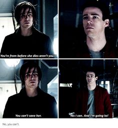 """#TheFlash 3x19 """"The Once and Future Flash"""" - Barry"""