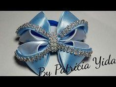 Laço luxo de fita de gorgurao -DIY - Ribbon bow - YouTube