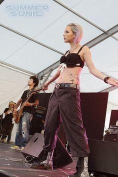 ... Rock singer Anna Tsuchiya and